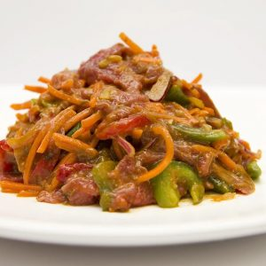 Caribbean Beef Stirfry 1