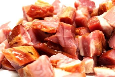 Diced Bacon Ends
