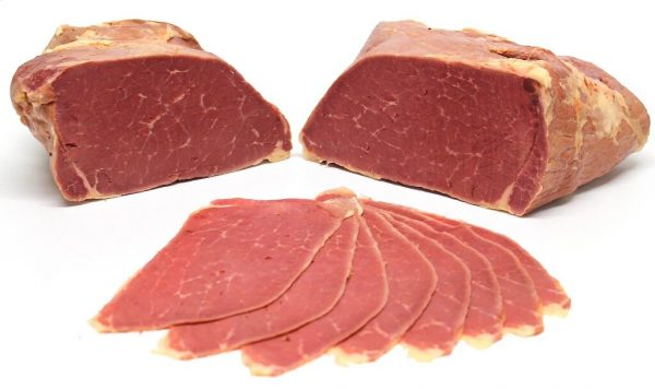 Sliced Cooked Corned Silverside